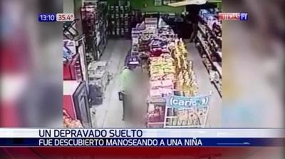 Buscan a depravado que manoseó a una niña de 10 años