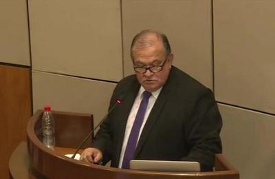 Continúa Juicio Político de Sindulfo Blanco