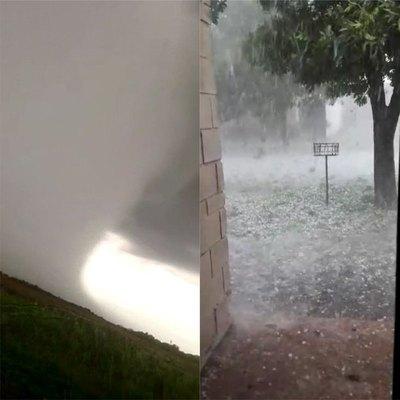 """Tornado """"raro"""" zarandeó en el Sur"""