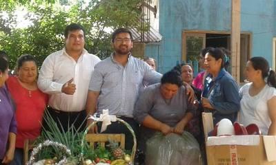 Caaguazú: Entregan aportes a comités de producción – Prensa 5