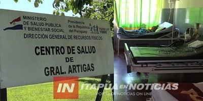 GRAL. ARTIGAS: RETROCESO EN LA SALUD PÚBLICA, NO CUENTAN CON MÉDICO DE GUARDIA 12 HS.
