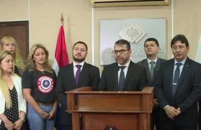 Funcionarios del Ministerio Público en pie de guerra