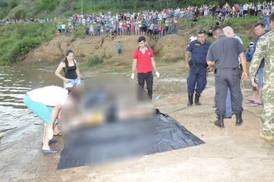 Realizan necropsia a cuerpo de joven ahogada