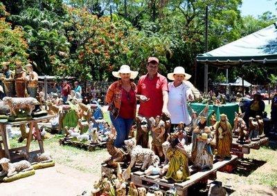 Ambiente navideño en Areguá