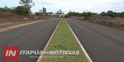ENCARNACIÓN: AVANZA SIN CONTRATIEMPOS CONSTRUCCIÓN DEL ACCESO AL BARRIO SAN ISIDRO.