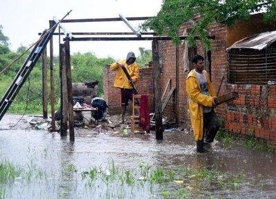 Nuevo Bañado Sur, contra inundaciones