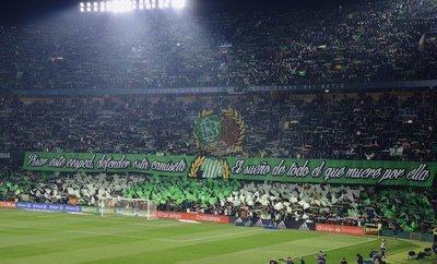 Real Betis lidera el ranking de la mejor afición del mundo