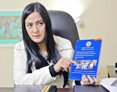 """""""Karina Gómez negocia las cosas con Messer"""""""