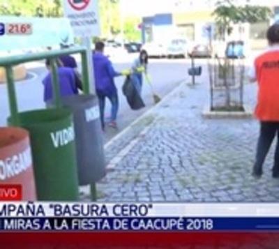Piden no arrojar basura a la calle durante festividades de Caacupé