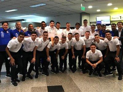 La Albirroja Sub 20 viajó a Chile