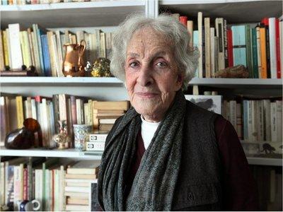 La escritora Ida Vitale, ganadora del Premio Cervantes 2018