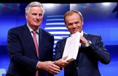 UE se reunirá el 25 de noviembre para decidir sobre Brexit