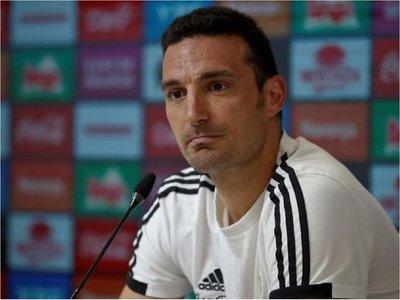 Scaloni no se ilusiona con seguir como técnico de Argentina