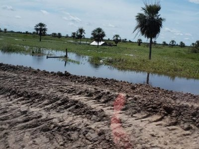 Río Paraguay llega a los 7,55 m en  Alberdi y la situación ya es crítica