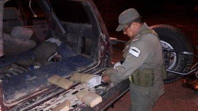 Paraguayo cae con 170 kilos de marihuana en Formosa