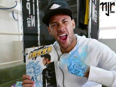 Neymar lanza una aplicación de sus cómics