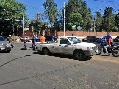 Cierran avenida Choferes del Chaco por trabajos de desagüe pluvial