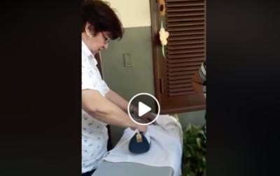 HOY / Con plancha en mano recibió a sus alumnos: le llueven elogios a directora