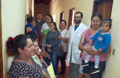 Salud beneficia a unas 145 personas de comunidad Coratei