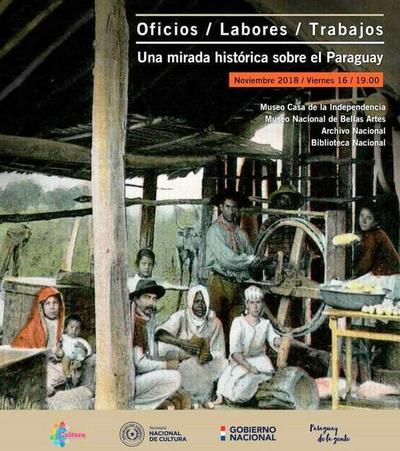 """Inauguración de muestra """"Mba'apo"""" sobre el desarrollo histórico de los oficios y labores en Paraguay"""