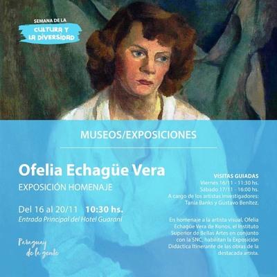 Inauguraron exposición de obras de Ofelia Echagüe de Kunos