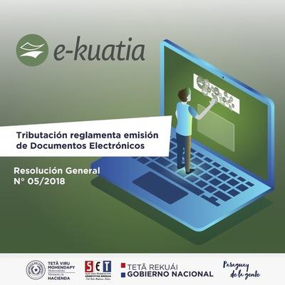 Tributación reglamenta emisión de documentos electrónicos