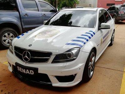 Autos narcos: Comienza a emplear vehículos incautados al crimen organizado