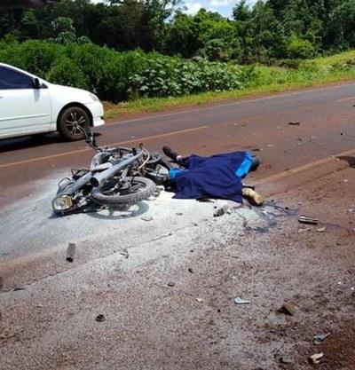 Percances ruteros dejan dos  fallecidos en el Alto Paraná