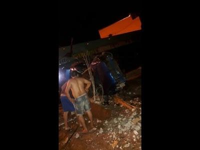 FATAL ACCIDENTE EN BARRIO SAN PEDRO DE ENCARNACIÓN