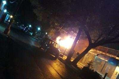 "Esta madrugada quemaron la camioneta ""escrache móvil"""