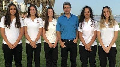 Paraguayas buscarán reeditar el título de la Copa Andes de golf