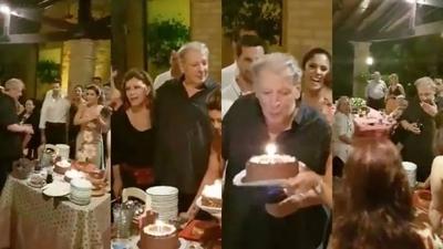 HOY / Gran comilona queda en el pasado: así fue la íntima fiesta de cumpleaños de Calé
