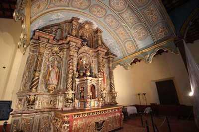 Habilitan retablo del templo San José Esposo de Valenzuela