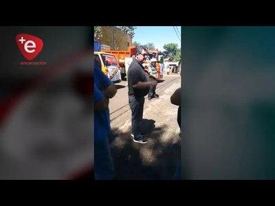PRESIDENTE DE LA JUNTA MUNICIPAL DE ENCARNACIÓN AMENAZA Y AMEDRENTA A JEFE DE PRENSA