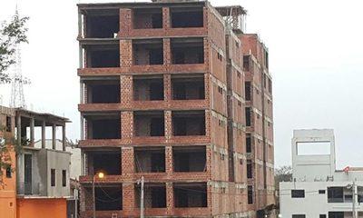 Paralizaron obras de imponente edificio del clan Zacarías, tras inicio de investigación