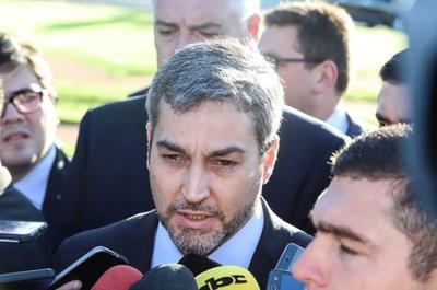 """Mario Abdo reitera la """"lucha frontal"""" contra el crimen organizado"""