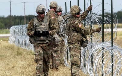 EEUU anunció retiro de militares de la frontera con México
