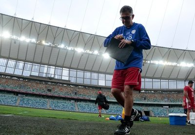 Confirmado el once titular de la Albirroja ante Sudáfrica