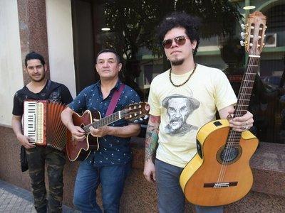 Músico paraguayo listo para cantar en Francia