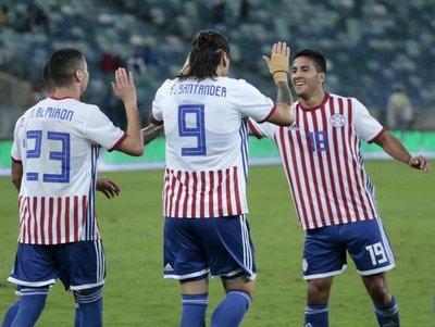 Paraguay empata pero deja evidencias de su aire renovador