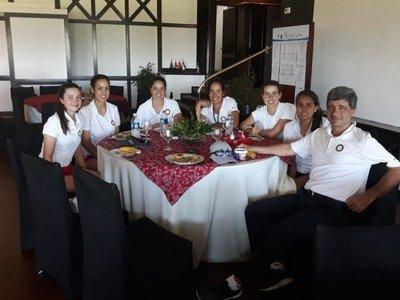 Última práctica para Copa Los Andes en Uruguay