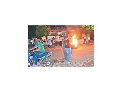 Más hidrantes y antimotines contra los manifestantes en Concepción