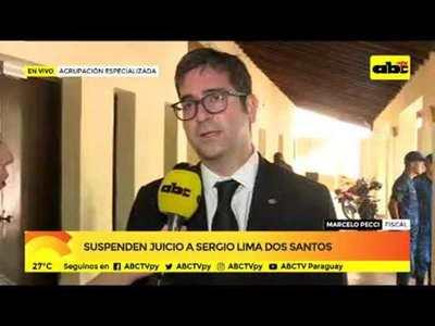 Suspenden juicio a Sergio Lima Dos Santos
