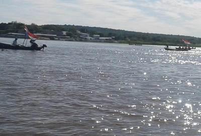 Pobladores de Guyrati cierran río Paraguay como medida de protesta