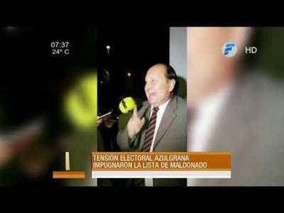 Impugnan lista de Lucio Maldonado
