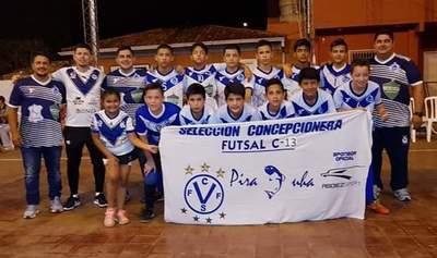 C13: Concepción clasificado al Nacional de fútbol de salón