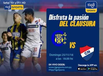 Deportivo Capiatá vs. Nacional es la cita