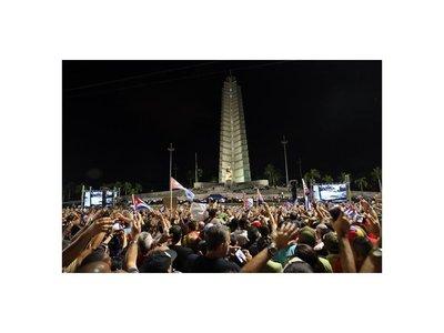 Las cenizas de Fidel emprenden viaje desde La Habana