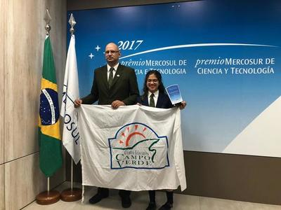 Estudiante de Concepción es galardonada por su proyecto de robótica en Brasil