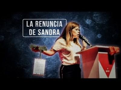 La renuncia de Sandra